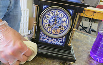 Restoration work on your clock